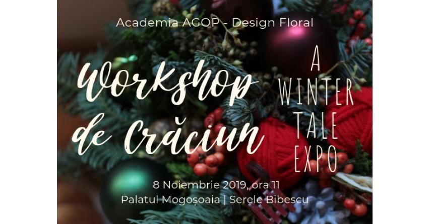 Design floral de Crăciun - Workshop